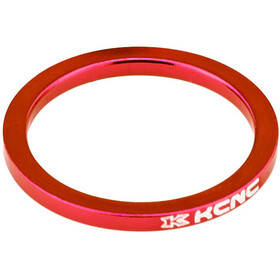"KCNC Headset Spacer 1 1/8"" 5mm, red"